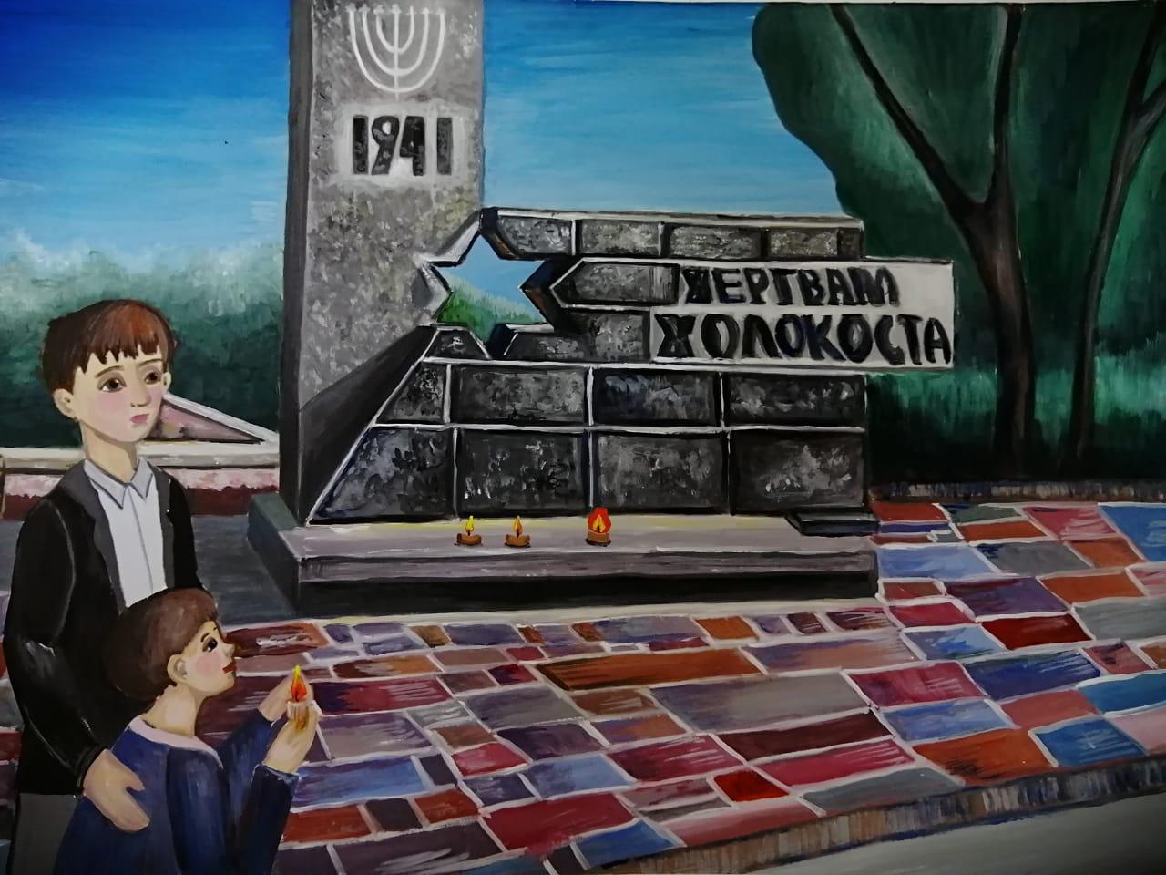 Rogovaya-Olesya-Sohranim-pamyat-o-zhertvah-Holokosta